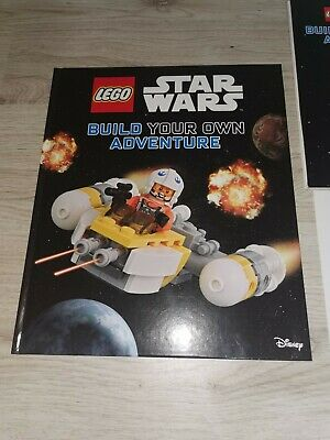 Lego Star Wars Book Build Your Own Adventure • 4.30£