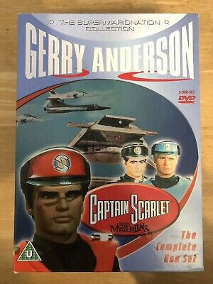Captain Scarlet And The Mysterons (Supermarionation Collection) - (DVD / 2007) • 14.95£