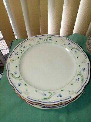 £18.11 • Buy Crown Dynasty Replacement Set Of 4 Dishes 11 1/2  And 4 Saucers 6