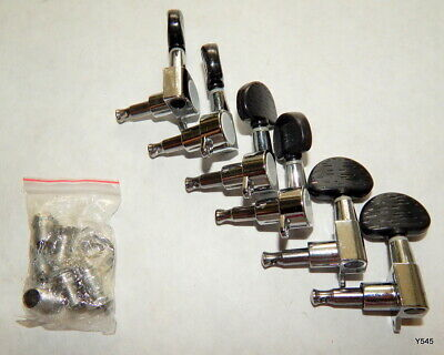 $12 • Buy 6 Silver Acoustic Guitar Tuning Pegs 5042-2