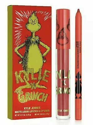 AU75.83 • Buy Brand New Kylie Jenner X How The Grinch Stole Christmas! Matte Lip Kit *IN HAND*