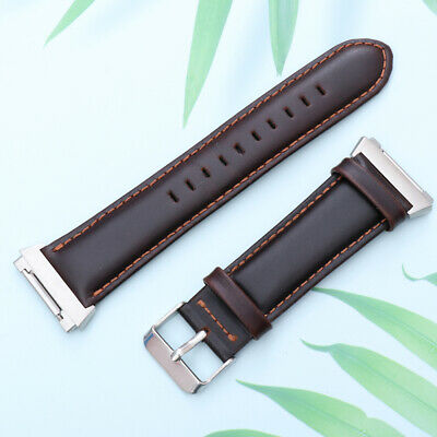 $ CDN14.81 • Buy 1pc Watch Band Premium Leather Durable Watchband Strap For Fitbit Ionic Watch