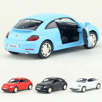 1:36 Scale VW Beetle 2012 Model Car Diecast Gift Toy Vehicle Kids Collection • 13.37£