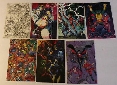 $0.99 • Buy Lot (6) He-Man Masters Of Universe Entertainment Right 2006 Graphic Cards