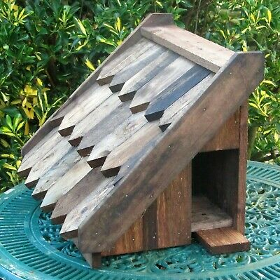 Dovecote, Dove Cote For One Pair Doves. Solid Timber. Wall Mounted. Full Sized • 48£