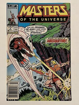 $14.99 • Buy Masters Of The Universe #8 (JUL 87) NEWSSTAND EDITION Marvel Star Comics He-man