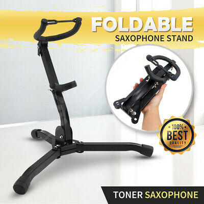 AU26.95 • Buy New Saxophone Tripod Stand Holder Sax Alto Tenor Portable Musical Instrument