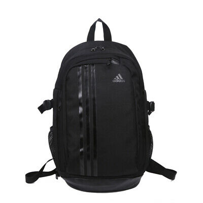 AU45.95 • Buy Adidas Original 3S Black Stripes Travel Backpack- Black