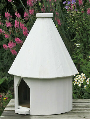Round Dovecote, Dove Cote For One Pair Doves. Rustic Solid Timber. Full Size. • 68£