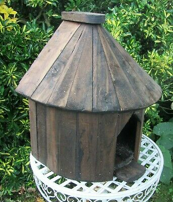 Half Round Dovecote Dove Cote For One Pair Doves. Rustic Solid Timber. Full Size • 60£