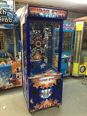 Coin Operated Super Star Arcade Machine • 550£