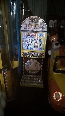 Coin Operated Tattoo /sticker Arcade Machine • 350£