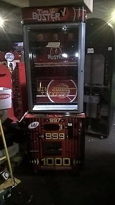 Coin Operated Time Buster Ticket Arcade Machine • 500£