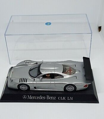 Scalextric / Hornby Mercedes Benz Clk Lm In Display Case • 19.95£