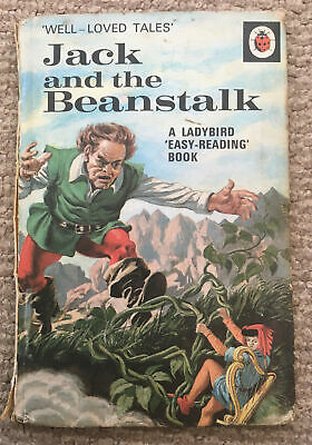 Vintage Ladybird 'WLT' Jack And The Beanstalk Book Series 606D  • 6.50£