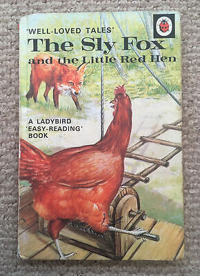 Vintage Ladybird 'WLT' The Sly Fox And The Little Red Hen Book Series 606D  • 7£