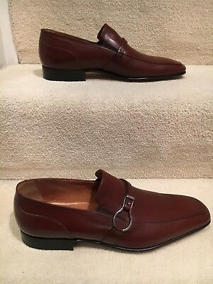 Moreschi Brown Leather Italian Made Shoes • 265£