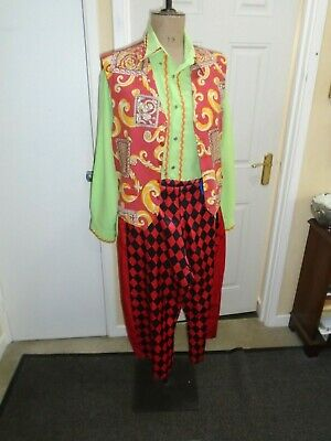 Silly Billy Costume Medium  Size 40 Chest • 22.95£