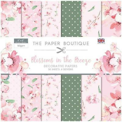 £6.99 • Buy The Paper Boutique - Blossoms In The Breeze - Decorative Papers 8  X 8
