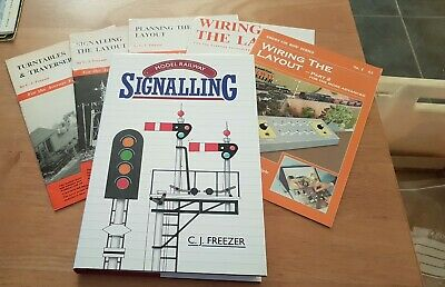 Model Railway Signalling - C. J. Freezer (Plus Other Booklets) • 4.99£