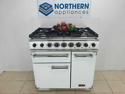Falcon Range Cooker Dual Fuel 90cm In Good Order Steam Cleaned J81 • 1,599£