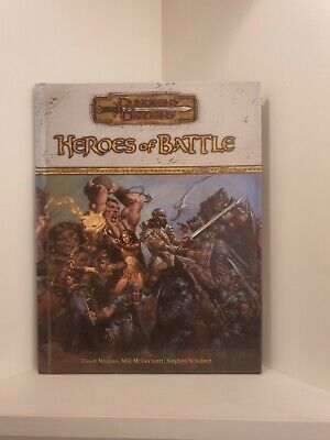 AU54.87 • Buy Heroes Of Battle, Hardcover, Dungeons & Dragons 3.0/3.5 (D&D)