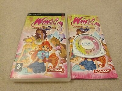 Winx Club: Join The Club - Sony PSP Game • 19.95£