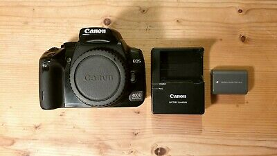 £69.99 • Buy Canon EOS 400D 10.1MP Digital SLR Camera Body With 1x Battery & Charger