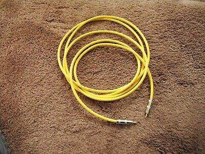 £21.82 • Buy Mogami 2549 Yellow Jacket, 10 Ft Sub Cable, Gold Pin Rca, Cardas Silver Solder.