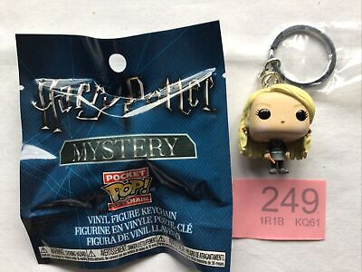 No 249 - Harry Potter -  Luna Lovegood Mini Pocket Pop Keychain Funko  Vinyl Fig • 6.99£