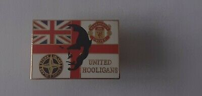 Manchester United Hooligan Badge • 5.25£