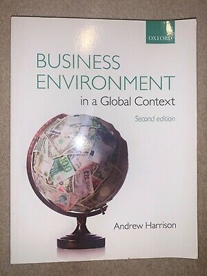 Business Environment In A Global Context By Andrew Harrison (Paperback, 2013) • 25£