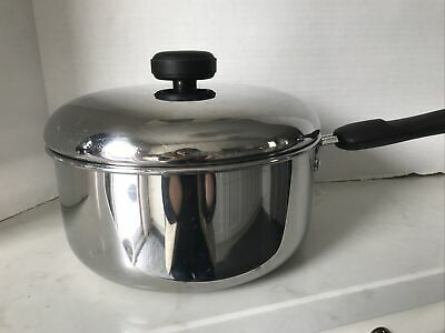 $ CDN31.99 • Buy Meyer Stainless Steele 3QT Saucepan Cookware Pot