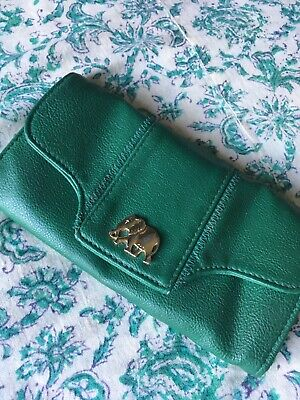 Urban Outfitters Turquoise Purse Elephant Gold • 1.60£
