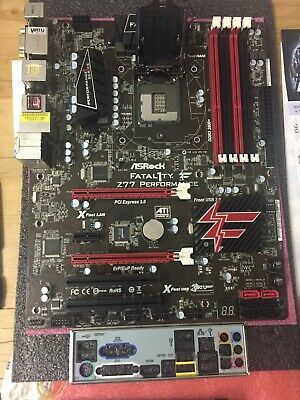 AU199 • Buy Asrock Fatal1ty Z77 Performance Socket 1155 Motherboard