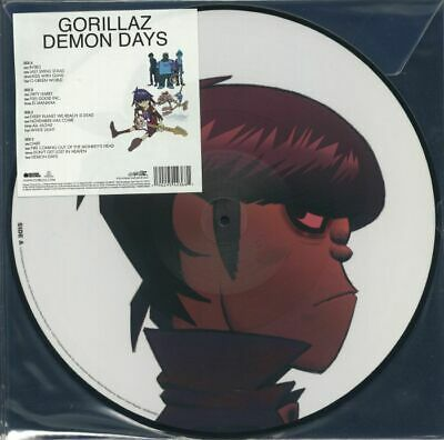 GORILLAZ - Demon Days - Vinyl (gatefold Picture Disc 2xLP) • 36.23£