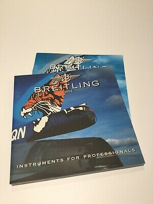 £25 • Buy Breitling Chronolog 3 1999 Full Uk Catalogue With Price List