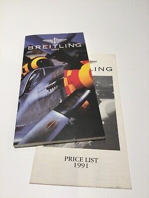 £35 • Buy Breitling 1991 Uk Catalogue With Price List