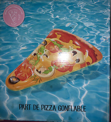 Giant Inflatable Pizza Float Pool Water Toy • 12.99£
