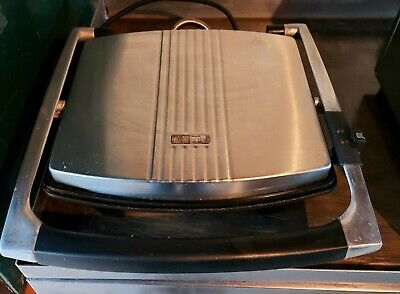 Panini Contact Grill Flat Plate, Press, Toastie Maker Commercial Take Away Cafe  • 40£