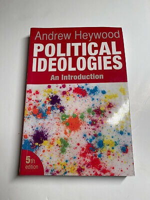 Political Ideologies An Introduction By Andrew Heywood • 3£