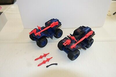 $ CDN40.83 • Buy Lot Of 2 1985 Gi Joe Cobra Ferret Atv Vehicle // Complete Super Clean // Nm+