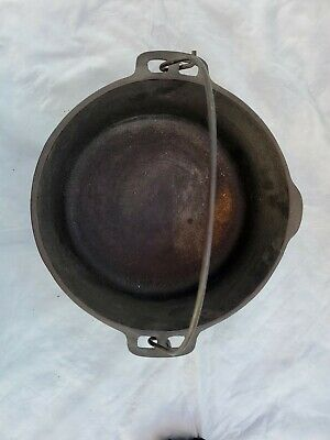 $ CDN82.47 • Buy Vintage WAGNER WARE Original 1891 Cast Iron 5 Qt Dutch Oven Stock Pot NO LID