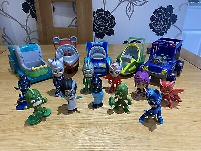 Pj Masks Vehicles And Figures Bundle • 18£