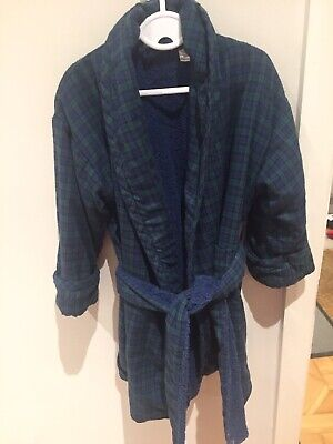 Harrods Childs Tartan Dressing Gown Age 3 • 20£