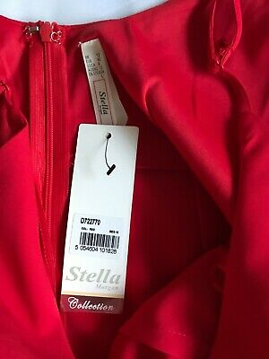 Stella Morgan Collection Red Dress Size 12 • 12£