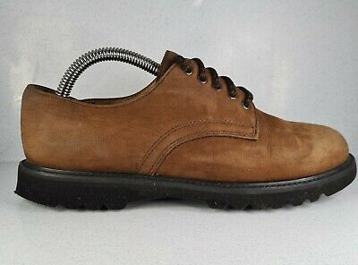 Rockport Brown NuBuck Waterproof Leather Shoes Womens UK4.5 Excellent Condition  • 21.97£