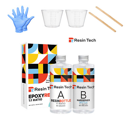 £14.99 • Buy EPOXY RESIN KIT 560g CRYSTAL CLEAR CASTING ART JEWELLERY WOOD CRAFT