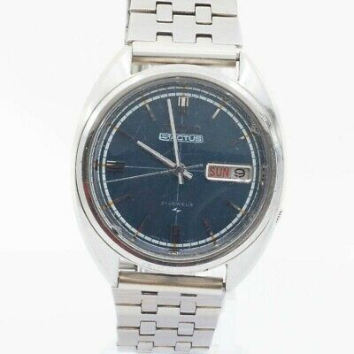 $ CDN96.80 • Buy Vintage Seiko 5 Actus Automatic 7019-7070 Mens Watch Japan Navy Blue