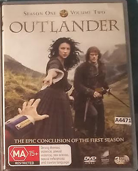 AU9.95 • Buy Outlander Season 1 One Volume 2 Two  DVD (3 Discs) R4 Australian Release